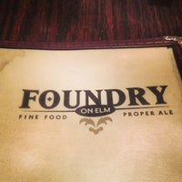 Photo taken at Foundry On Elm by Greg B. on 1/29/2013