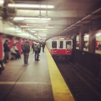 Photo taken at MBTA Downtown Crossing Station by Greg B. on 1/8/2013