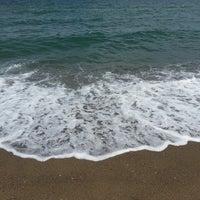 Photo taken at Akkum Plajı by Ihsan I. on 7/27/2013