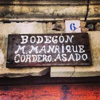 Photo taken at El Bodegon de Manrique by Bor on 4/13/2013