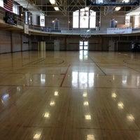 Photo taken at Schreiber Gym by Chance C. on 3/27/2013