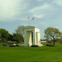 Photo taken at Canada Border Services Agency (Peace Arch) by Vic T. on 5/10/2013