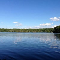 Photo taken at Lincoln Woods State Park by Sorangel S. on 8/11/2013
