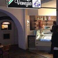 Photo taken at Eiscafe Venezia by Paulo S. on 5/6/2014