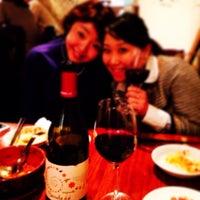 Photo taken at ミスミヤ 〜ソムリエと飲むワイン居酒屋 by Azuki K. on 2/19/2014