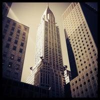 Photo taken at Chrysler Building by Henrique L. on 4/12/2013