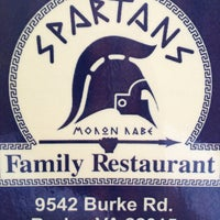 Photo taken at Spartans Family Restaurant by Megan D. on 9/14/2013