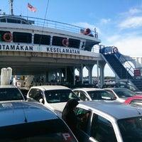Photo taken at Terminal Feri Menumbuk, Sabah by Rj J. on 4/15/2013