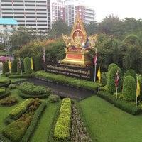 Photo taken at King Mongkut's University of Technology Thonburi (KMUTT) by iBOMBER C. on 11/4/2012