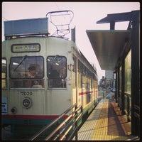 Photo taken at Yasunoya Station by Juner C. on 1/5/2014