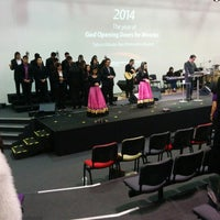 Photo taken at Bethany International Church by Hendry S. on 4/20/2014