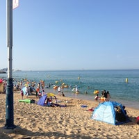 Photo taken at Sokcho Beach by SengYoup B. on 7/26/2013