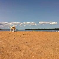Photo taken at Пляж Прибой by Alexander D. on 7/13/2013