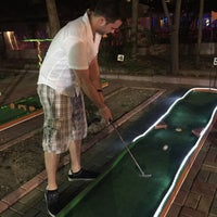 Photo taken at Alanya mini golf park by Merel on 9/8/2015