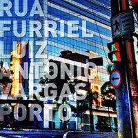 Photo taken at Rua Furriel Luiz Antônio Vargas by Roberto P. on 4/15/2013