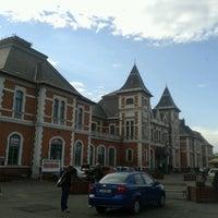 Photo taken at Tiszai pályaudvar by Alena I. on 11/9/2013