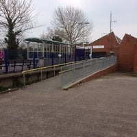 Photo taken at Exmouth Railway Station (EXM) by Foxsation on 4/1/2013