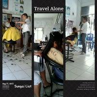 Photo taken at Alex's Salon by Verawati Then v. on 8/31/2013