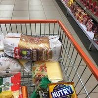 Photo taken at Supermercado Angeloni by Márcio F. on 6/6/2016