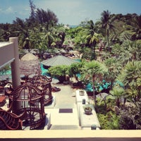 Photo taken at Mövenpick Resort & Spa Karon Beach Phuket by Jr. G. on 3/25/2013