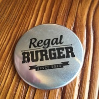 Photo taken at Regal Burger by Bibiana T. on 3/30/2015