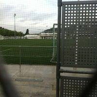 Photo taken at Camp De Futbol Vilomara by TAXI650 BAGES 6. on 10/26/2012