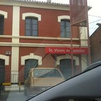 Photo taken at RENFE Sant Vicenç de Castellet by TAXI650 BAGES 6. on 2/21/2013
