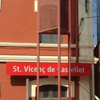 Photo taken at RENFE Sant Vicenç de Castellet by TAXI650 BAGES 6. on 7/11/2013