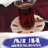 Photo taken at Nuh Restaurant by Mehmet A. on 5/12/2014