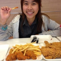 Photo taken at KFC @ BigC Market Huahin by MTis V. on 7/15/2013