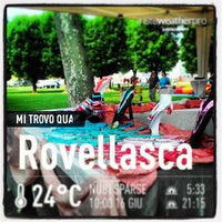 Photo taken at Parco di Rovellasca by Marco B. on 6/16/2013