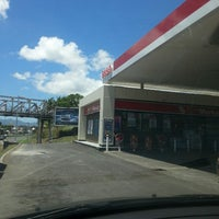 Photo taken at Station Esso by Fly D. on 3/31/2013