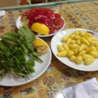 Photo taken at Saray Restaurant by Esat D. on 5/4/2013