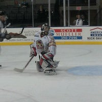 Photo taken at Rushmore Plaza Civic Center Ice Arena by Mike C. on 1/8/2012