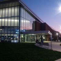 Photo taken at Pegula Ice Arena by Yizzle Y. on 10/18/2013