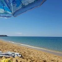 Photo taken at Spiaggia di Pistis by Ed L. on 9/25/2016