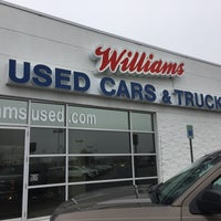 Photo taken at Williams Used Cars & Trucks by Chuck B. on 1/22/2017