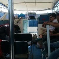 Photo taken at Bang Rong Pier by Fern K. on 10/31/2012