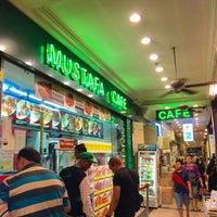 Photo taken at Mustafa Cafe by Fern K. on 11/4/2015