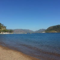 Photo taken at Marmaris Park Beach by CaNeR on 9/24/2013