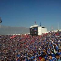 Photo taken at Estadio Nacional Julio Martínez Prádanos by Juan R. on 5/5/2013