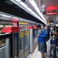 Photo taken at MRT Taipei Main Station by Jimmy W. on 4/23/2013