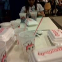 Photo taken at Jollibee by Johanna A. on 3/24/2013