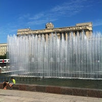 Photo taken at Moscow Square by Ксения on 7/8/2013
