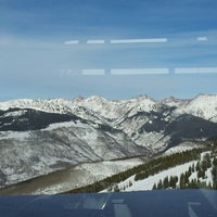 Photo taken at Vail Mountain by Caroline M. on 12/22/2012