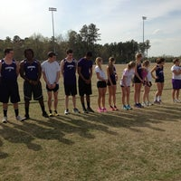 Photo taken at Carrboro High School by Therese Lindquist on 4/12/2013