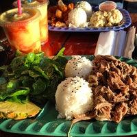 Photo taken at Mokis Hawaiian Gril by Dana H. on 5/7/2013