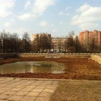 Photo taken at Площадь Академика Вишневского by Anna on 4/18/2013