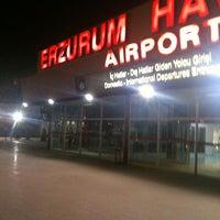 Photo taken at Erzurum Airport (ERZ) by Busra K. on 7/1/2013