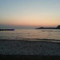 Photo taken at B-long Beach & Restaurant by Bugra K. on 7/17/2013